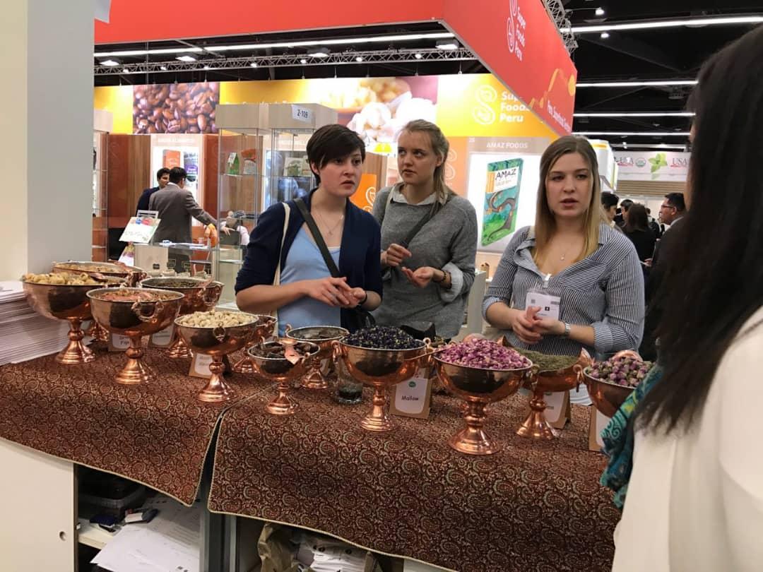 biofach 14 - Salam Rouyan Rastak CO. Presence  in Biofach 2017– Nuremberg