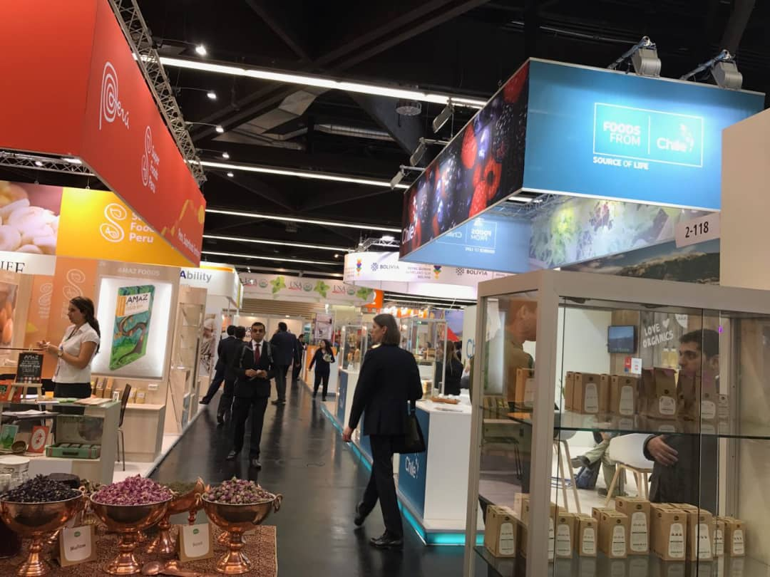 biofach 8 - Salam Rouyan Rastak CO. Presence  in Biofach 2017– Nuremberg
