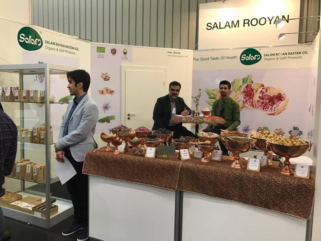biofach 9 - Salam Rouyan Rastak CO. Presence  in Biofach 2017– Nuremberg
