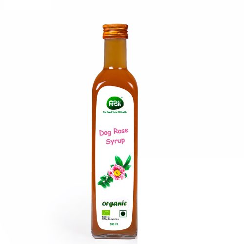 نسترن 500x500 - Azil Organic Dog Rose Syrup (Rosa canica L.)