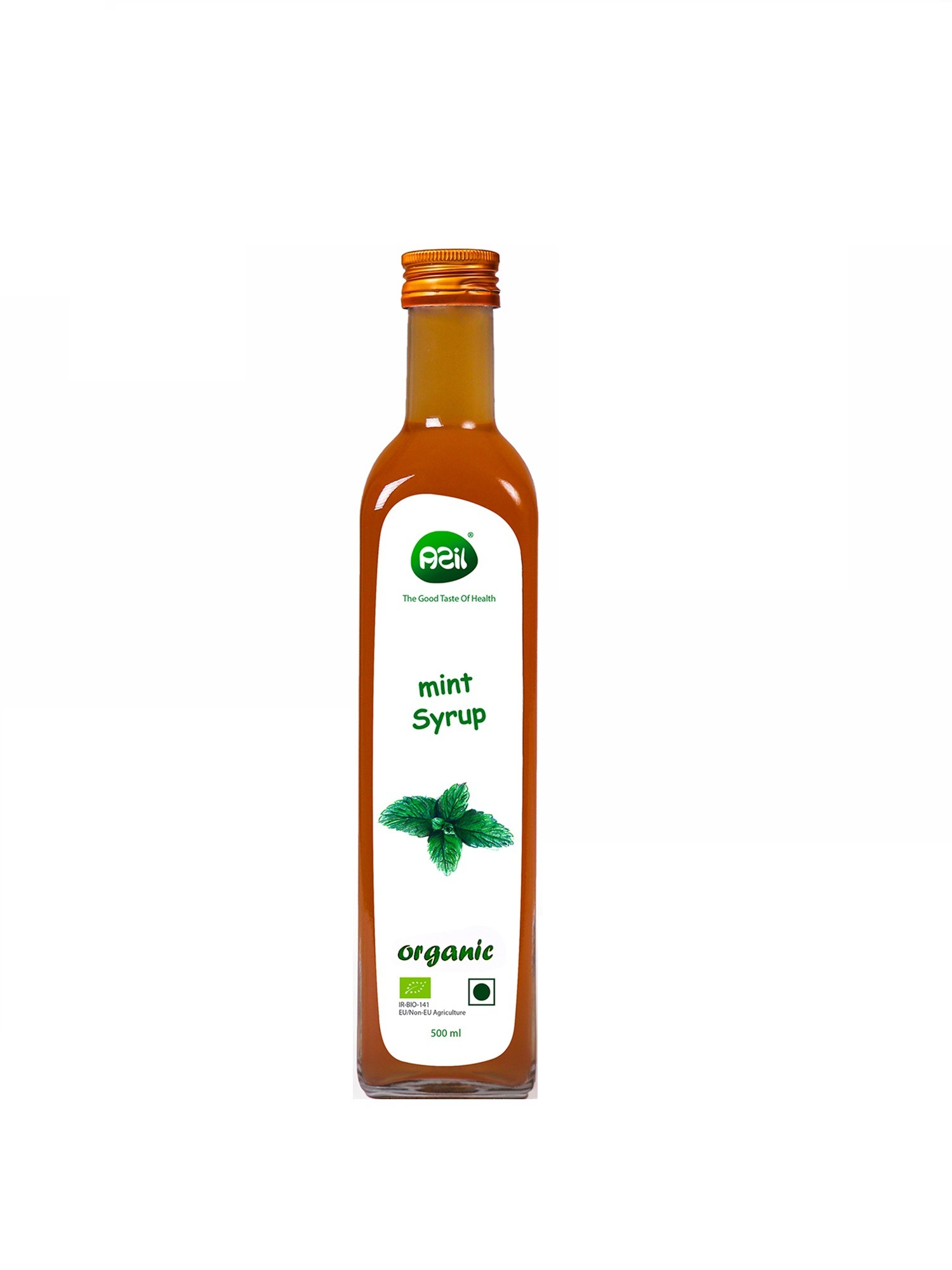 mint syrup 2 - Azil Organic Mint Syrup (Mentha spicata L.)
