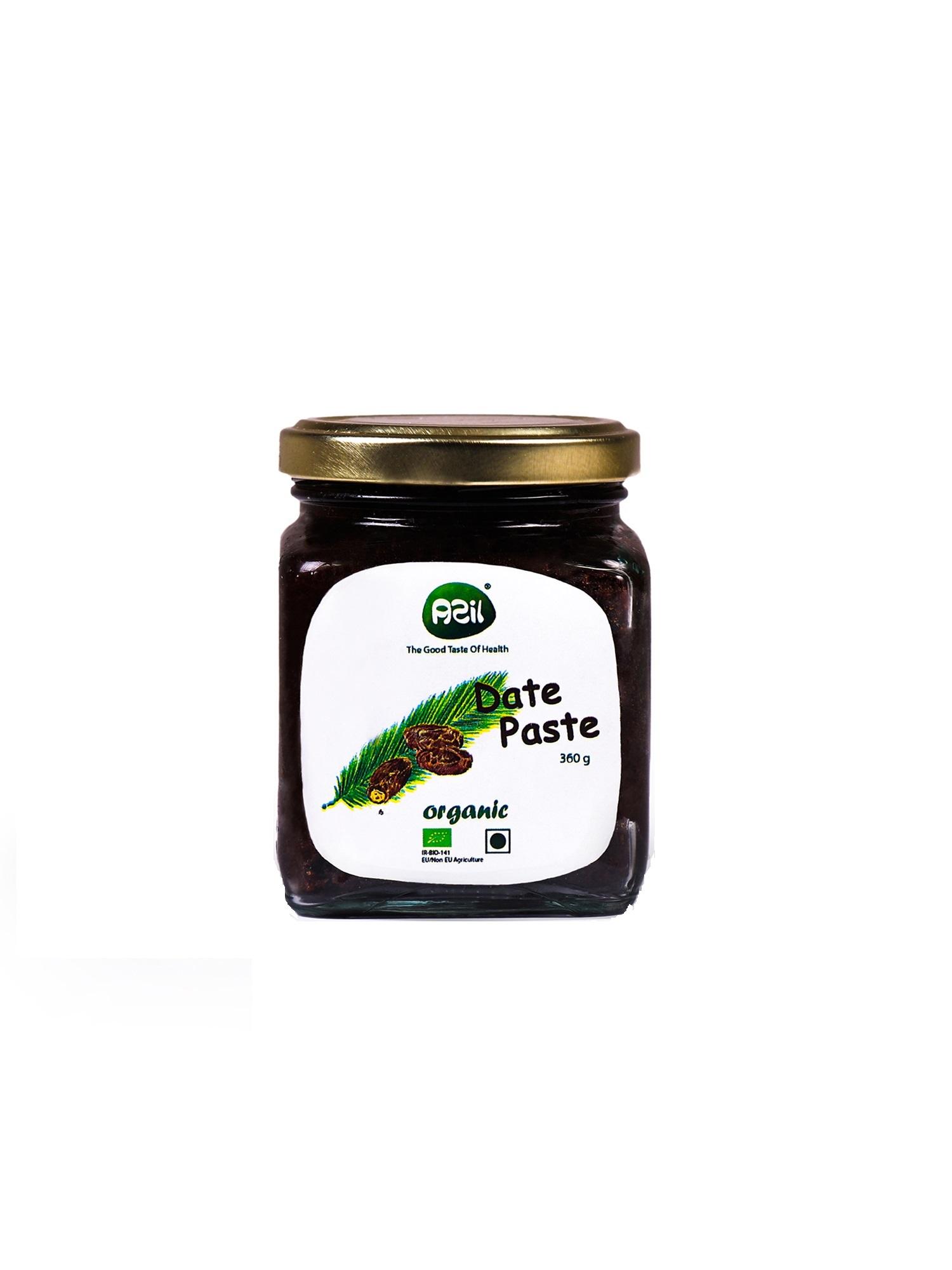 بسته بندی خمیرخرما 1 - Azil Organic Date Paste
