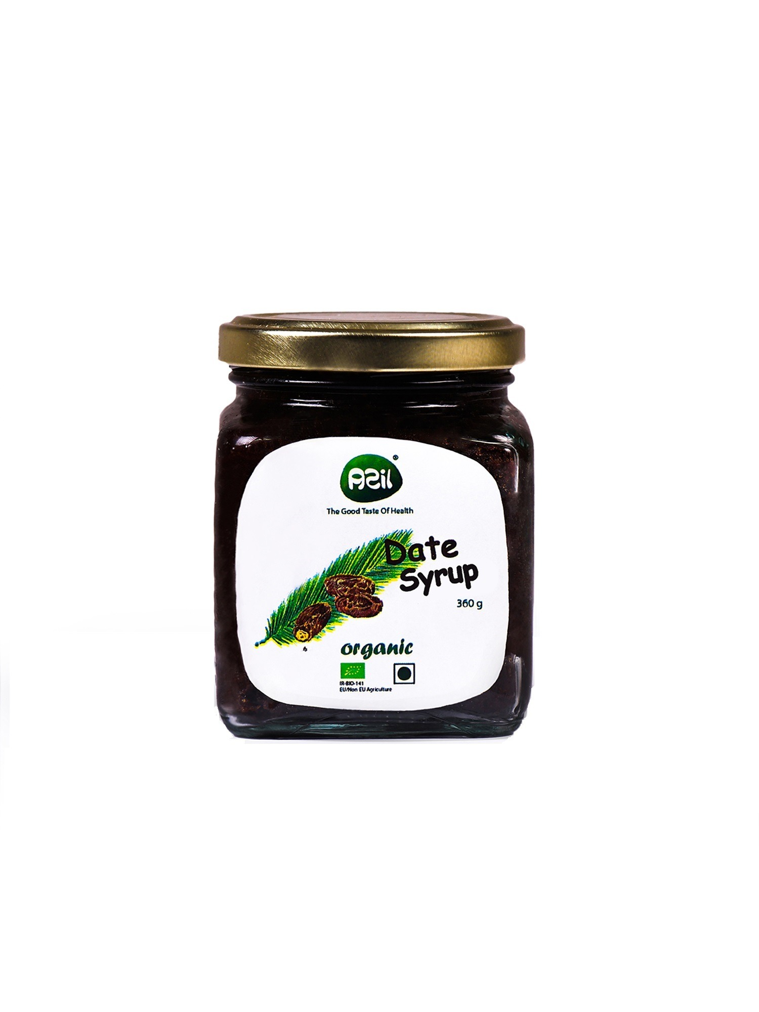 date syrup packed picture - Azil Organic Date Syrup