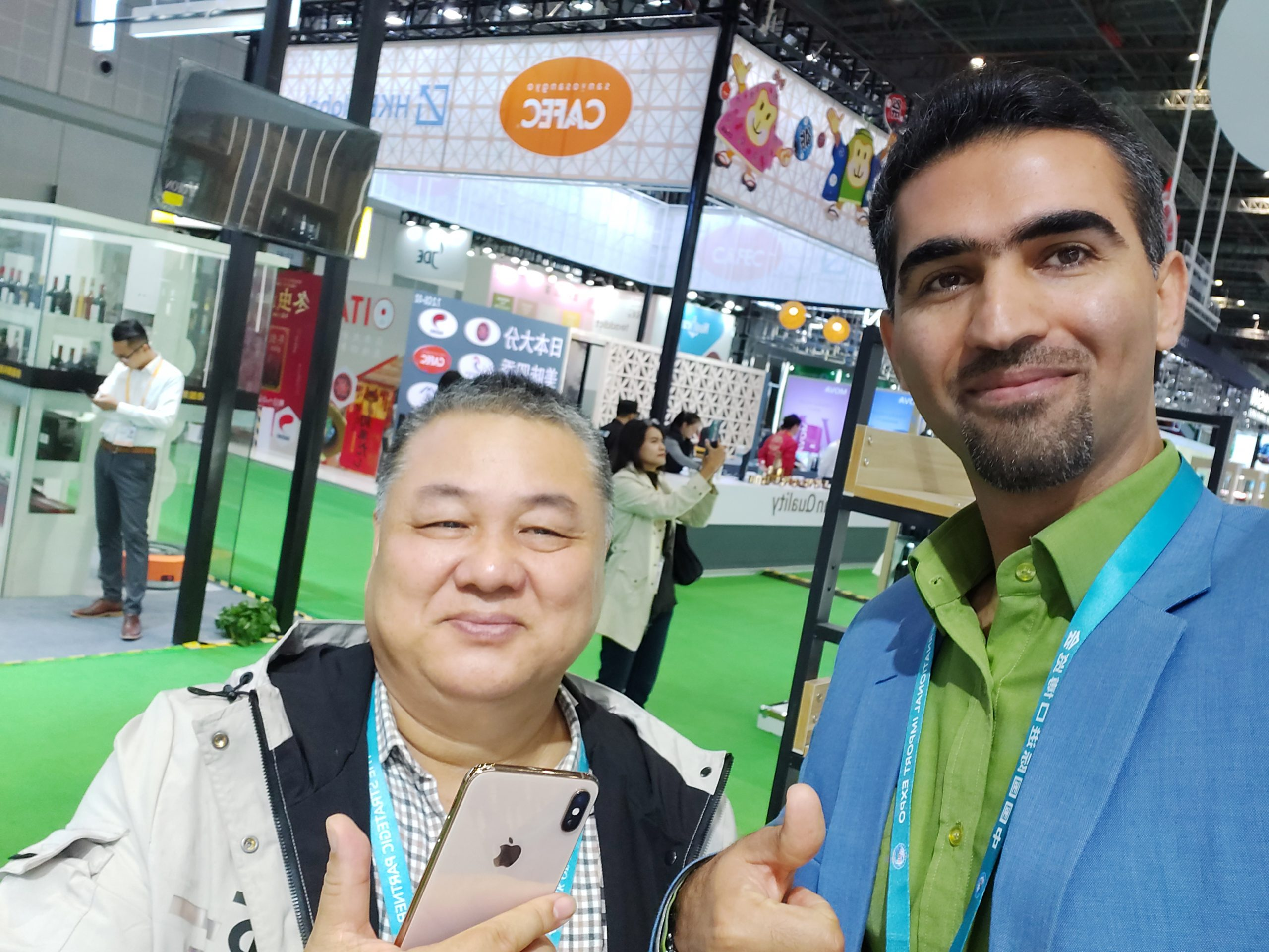 20191110 094117 scaled - Salam Rouyan Rastak CO.  presence in International Import Expo 2019 - China