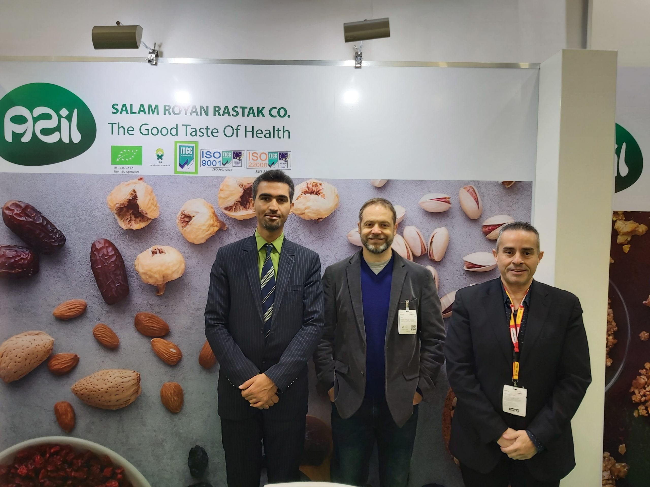 20200215 093734 scaled - Salam Rouyan Rastak CO. presence in Biofach 2020 -Germany