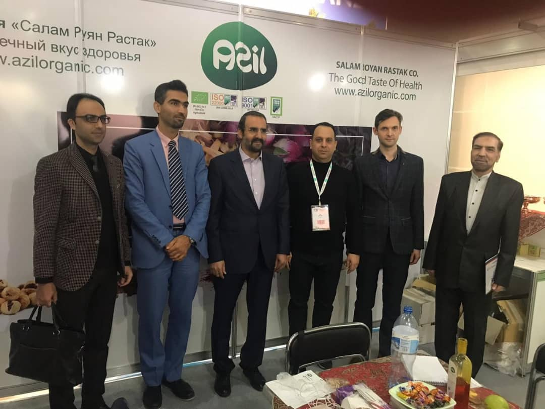 8 - Salam Rouyan Rastak CO. Presence in Word Food 2019 - Moscow