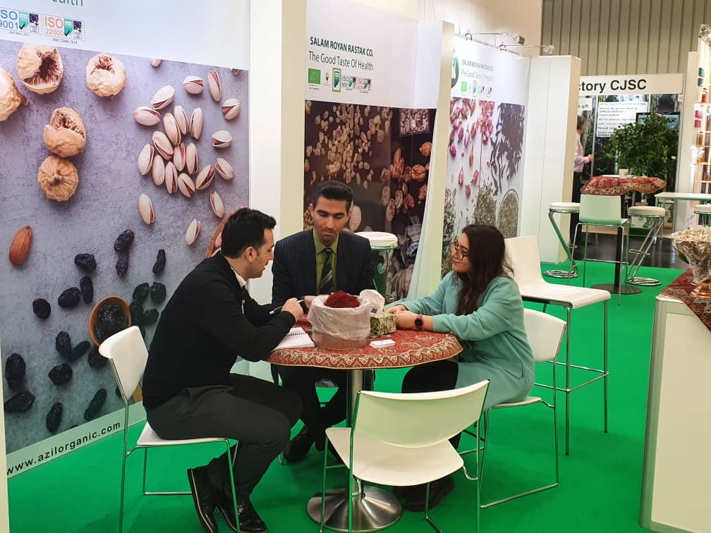 81 - Salam Rouyan Rastak CO. presence in Biofach 2020 -Germany