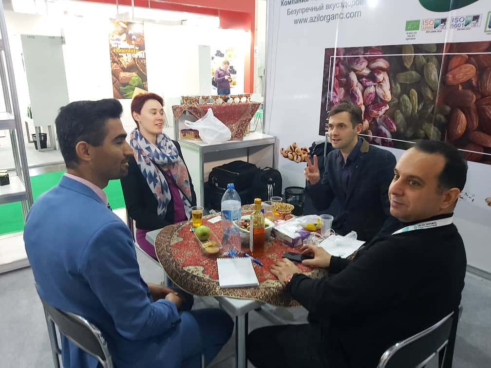9 - Salam Rouyan Rastak CO. Presence in Word Food 2019 - Moscow