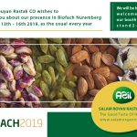 Biofach invitation 150x150 - Salam Rouyan Rastak CO. Presence in Word Food 2019 - Moscow