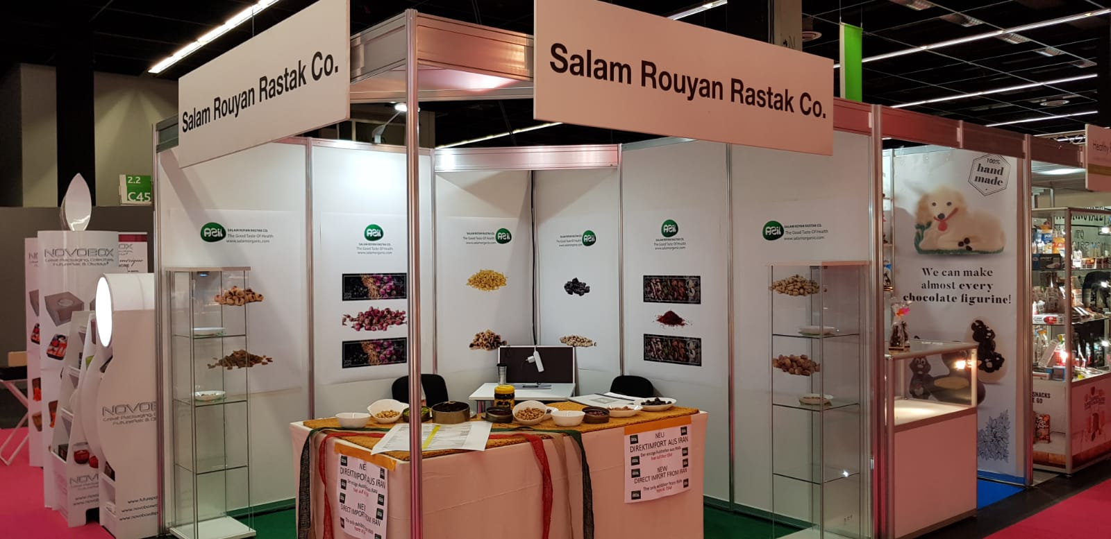 ISM25 - Salam Rouyan Rastak CO. Presence  in ISM 2019– Cologne