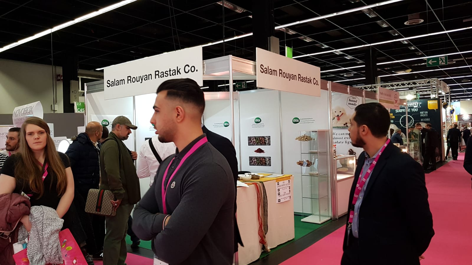 ISM3 - Salam Rouyan Rastak CO. Presence  in ISM 2019– Cologne