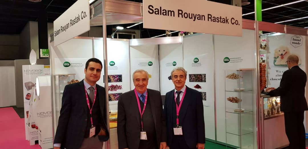 ISM6 - Salam Rouyan Rastak CO. Presence  in ISM 2019– Cologne