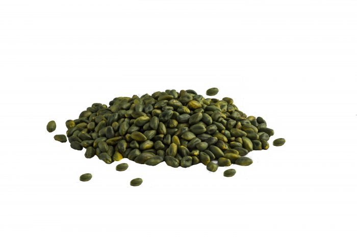 green pistachio kernel  700x465 - Organic Green Peeled Pistachio Kernels