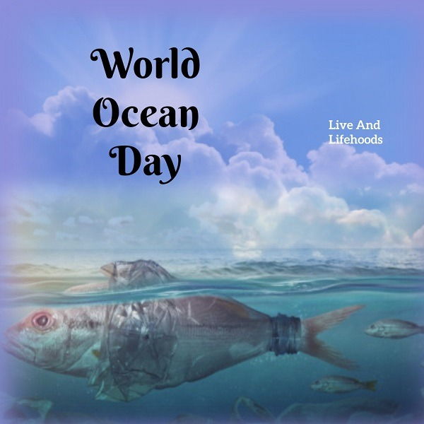 Copy of world ocean day Made with PosterMyWall 1 - World Oceans Day