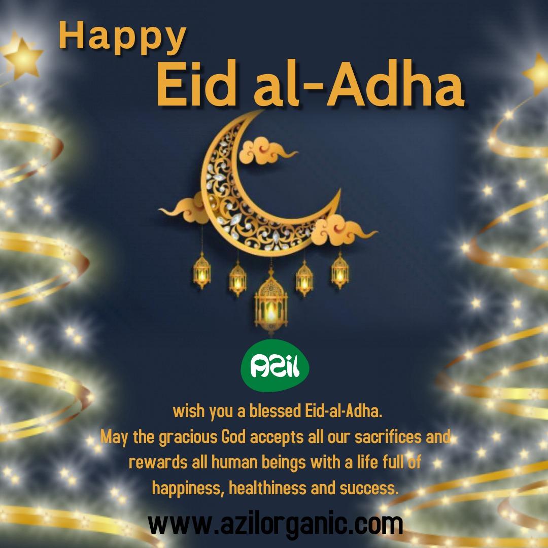 Poster of Eid al Adha  - Eid-al-adha Mubarak.